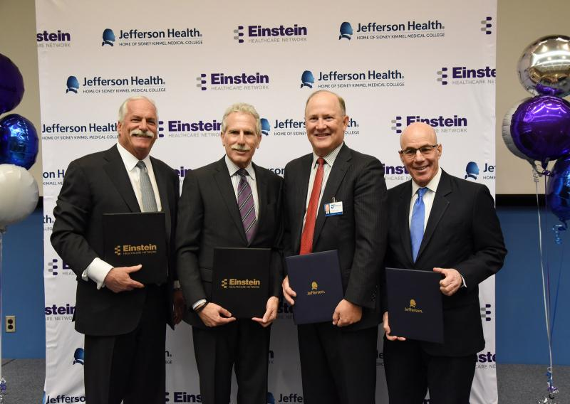 Einstein Healthcare and Jefferson announce merger